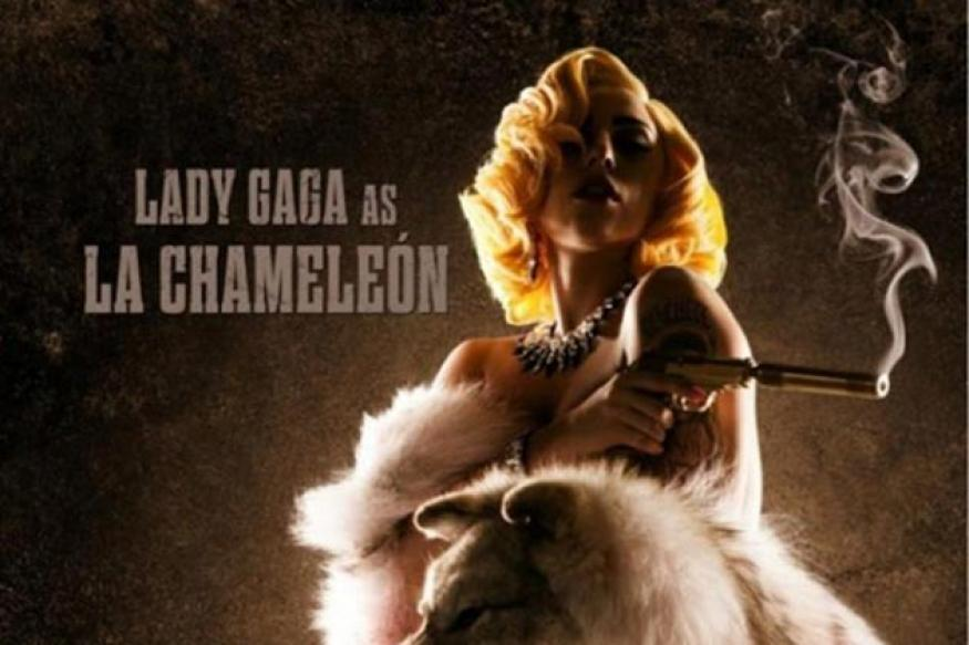 Snapshot: Lady Gaga drapes a dead beast in 'Machete Kills'