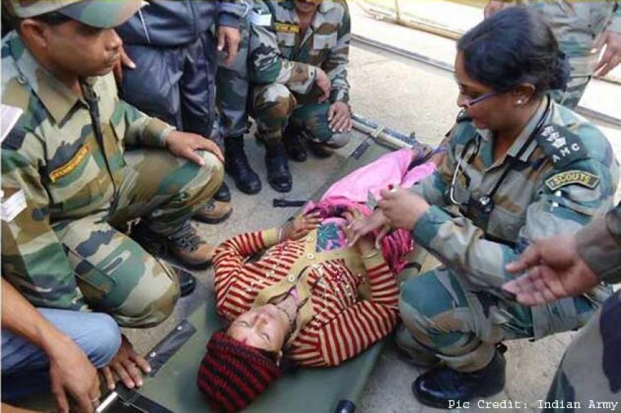 Uttarakhand: Woman, who delivered baby with help of Army doctors, evacuated to Dharchula