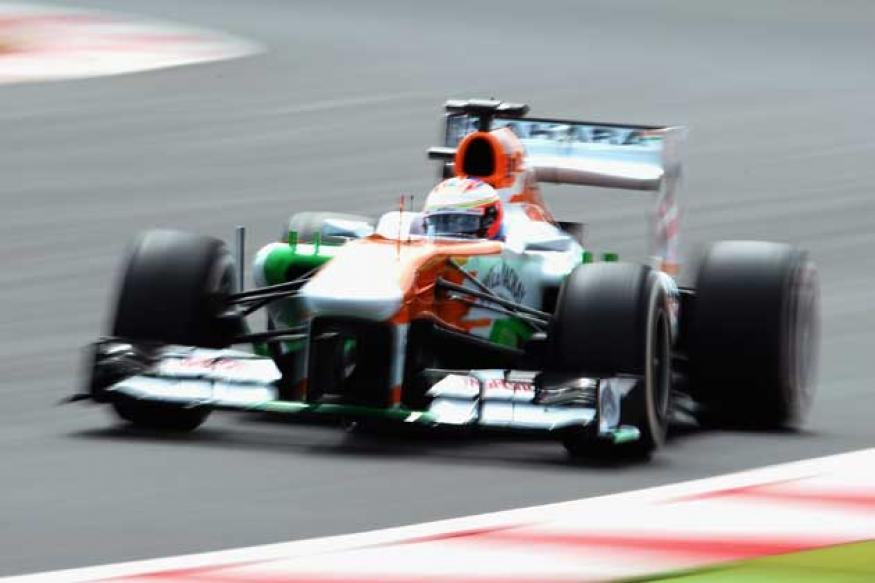Force India impress in British GP qualifying