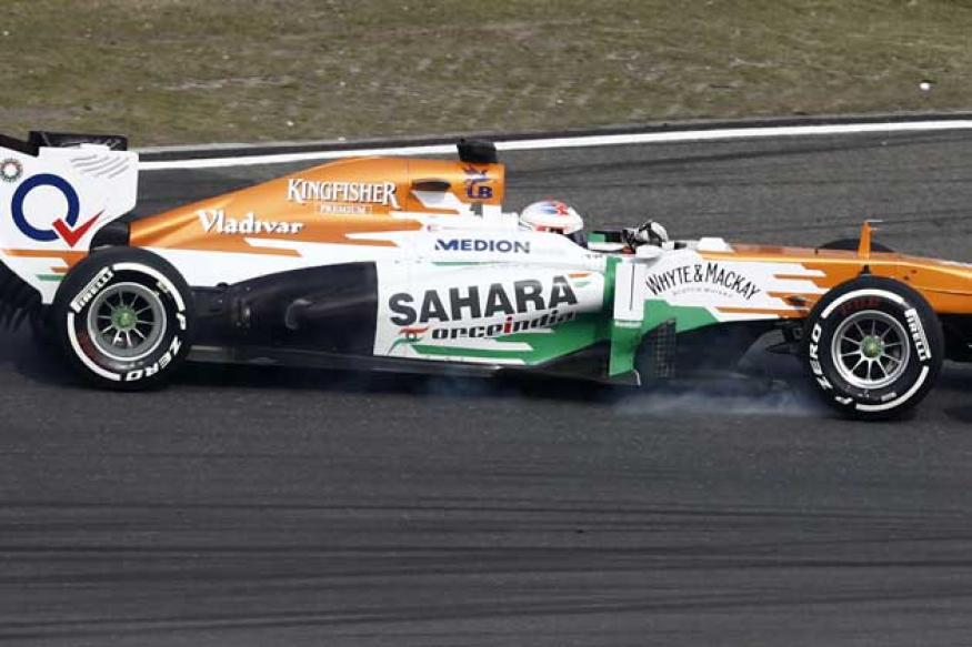 Force India's Paul di Resta penalised for underweight car