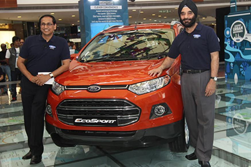 Ford EcoSport launched in India at Rs 5.59 lakh, gets 10 variants