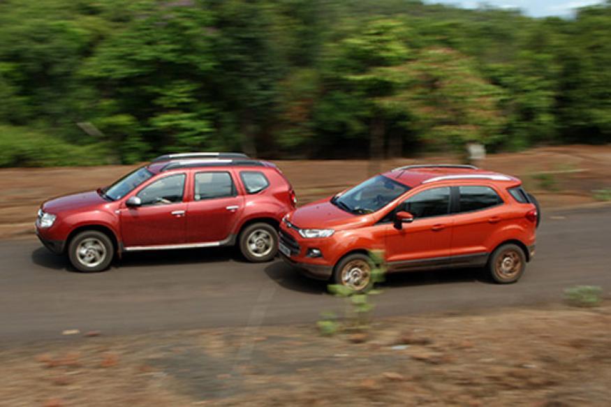 Comparison: Ford EcoSport diesel vs Renault Duster diesel