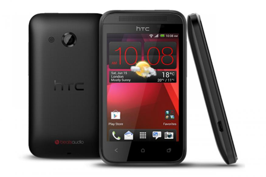 HTC Desire 200 unveiled: 3.5-inch display, 1GHz processor, 5MP camera