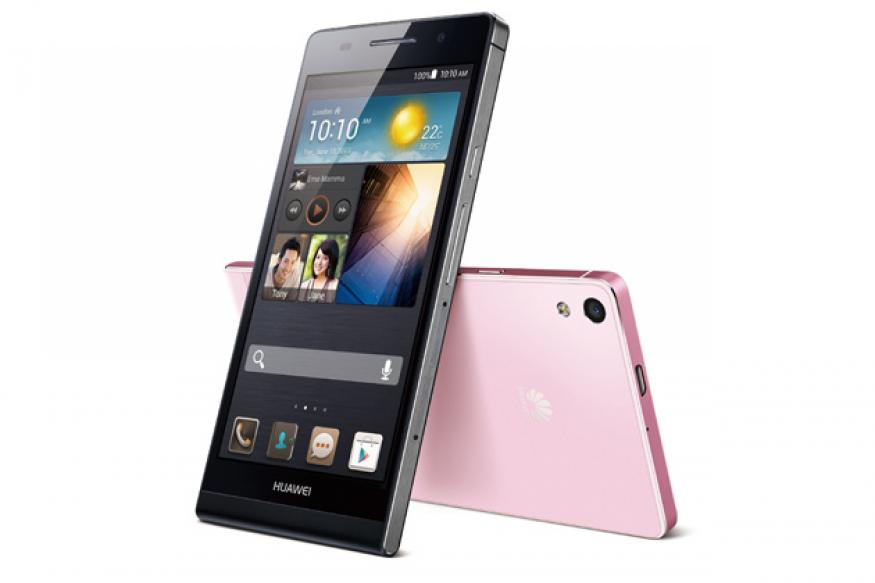 Ascend P6: Huawei launches the world's slimmest smartphone