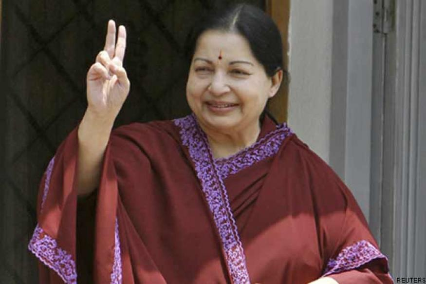 Jaya announces 5 AIADMK nominees for six RS seats