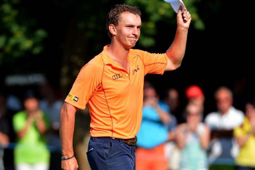 Joost Luiten edges past Thomas Bjorn to win Lyoness Open