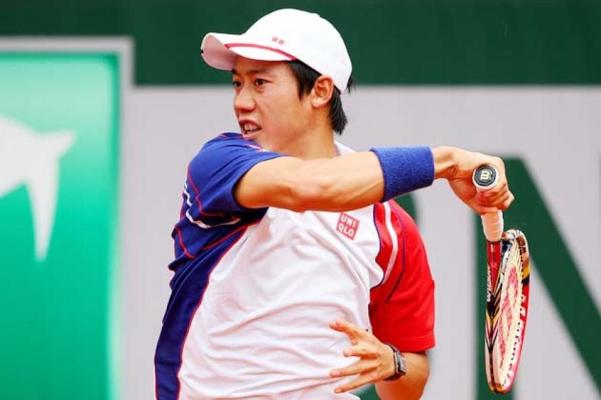Nishikori first Japanese man in 75 years to reach French Open last 16