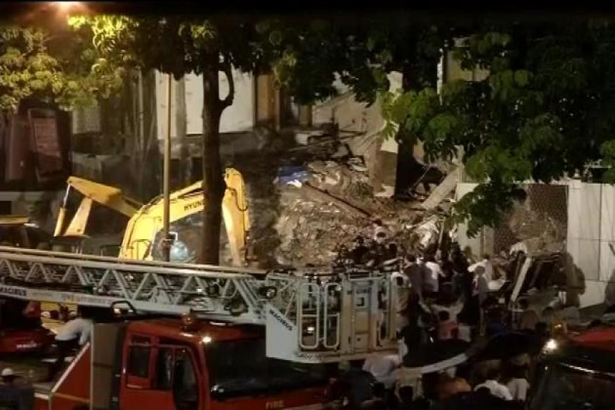 Mumbai building collapse: Death toll rises to ten, six injured