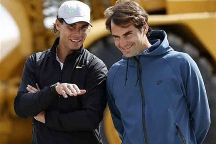 Federer haul seems light-years away, says Nadal