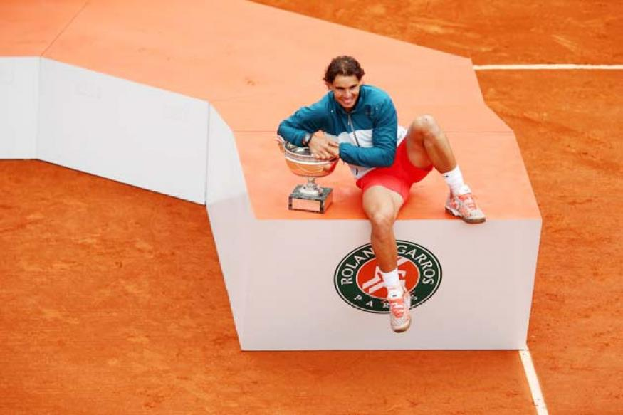 Rafael Nadal defeats David Ferrer to win eighth French Open title
