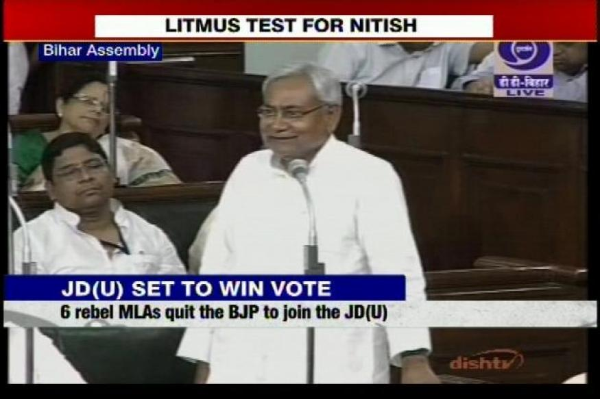 Live: Nitish Kumar's JD(U) wins vote of confidence in Bihar Assembly