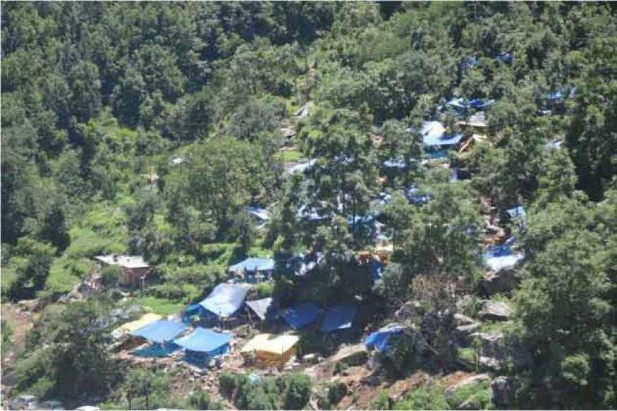 Uttarakhand floods: Helipads being built to speed up rescue operations