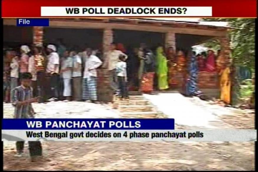 West Bengal government proposes to have Panchayat polls in 4 phases