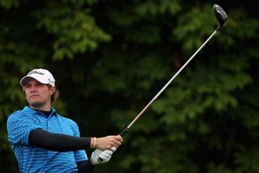 Uihlein, Rock share Irish Open lead; McIlory out