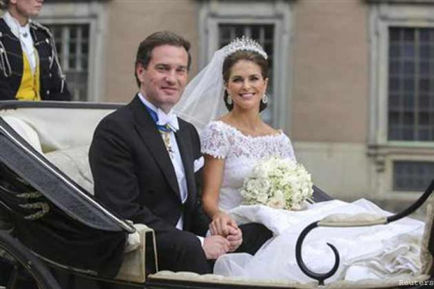 Sweden's Princess Madeleine marries New York banker
