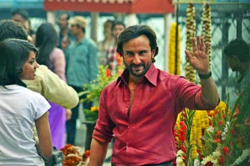 Chopper for Saif Ali Khan's ad lands at hotel, seized