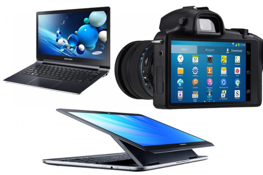 Samsung unveils Android-based Galaxy NX camera, dual OS tablet Ativ Q