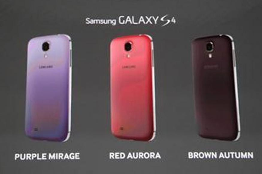 Samsung Galaxy S4 to be available in five new colours