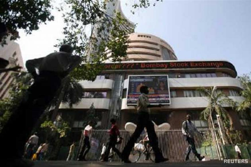 Sensex at nearly 2-month low; slumps 298 points on weak rupee