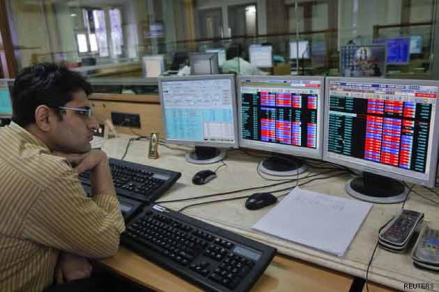 Sensex slips below 19,000 level; down 214 points