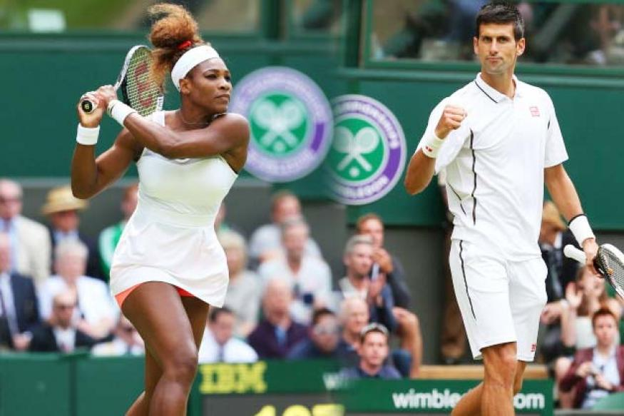 Djokovic, Ferrer and Serena advance to second round at Wimbledon