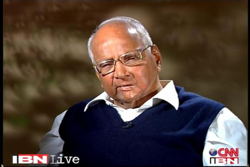 Not opposed to Food Bill, want discussion in Parliament: Pawar