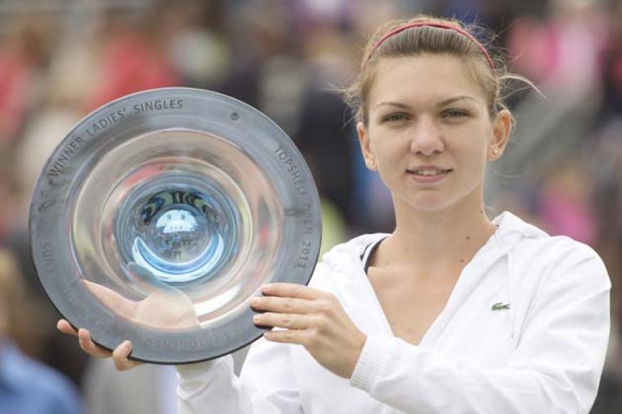 Simona Halep beats Kirsten Flipkens to win Topshelf Open