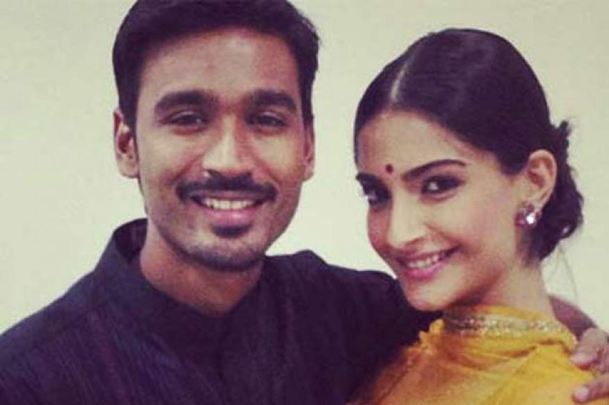 Sonam persuaded Dhanush for beauty soap ad