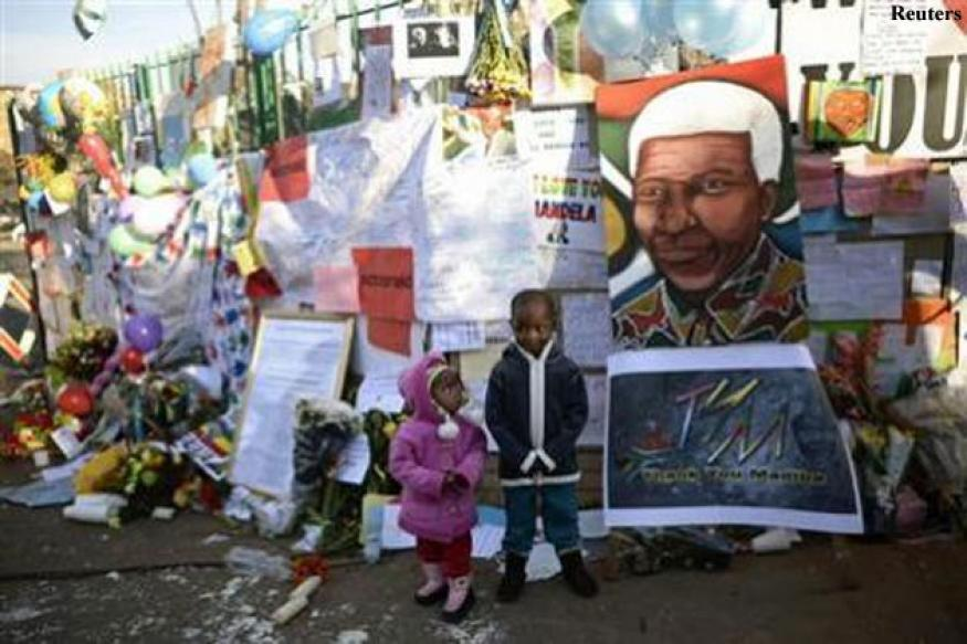 Mandela 'critical but stable', says South African President