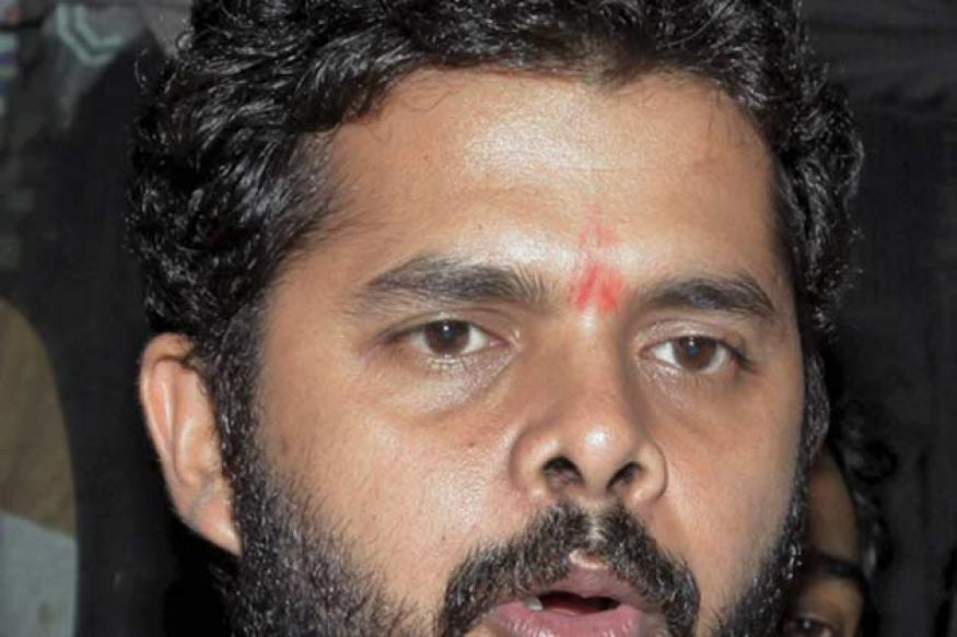 Snapshot: Out on bail, S Sreesanth sports a new look