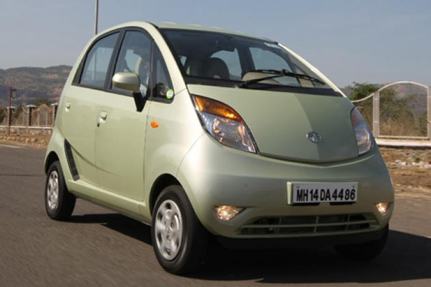 Tata Nano car drives into Guinness World Records