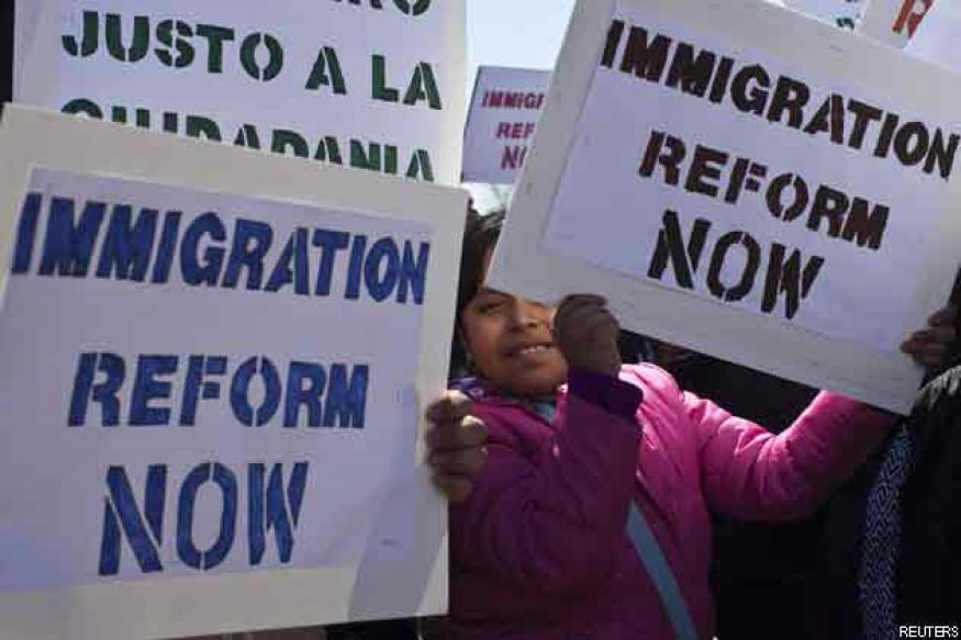 US immigration bill headed for Senate passage