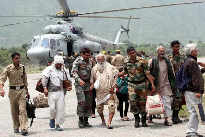 Uttarakhand: IAF braves bad weather, says rescue choppers won't stop