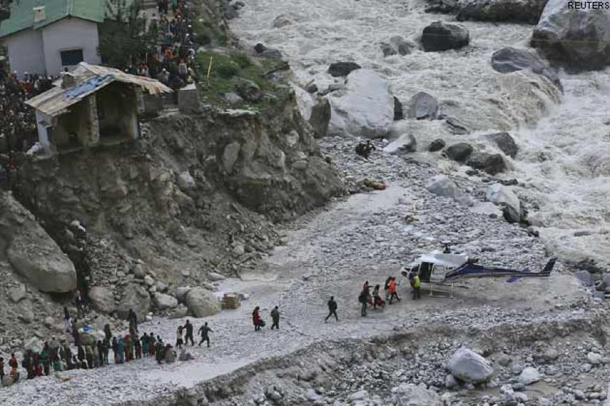 Uttarakhand floods: IAF sets up fuel bridge for rescue choppers