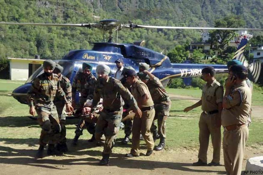 Enough choppers for U'khand rescue ops: Air Marshal PS Ahluwalia
