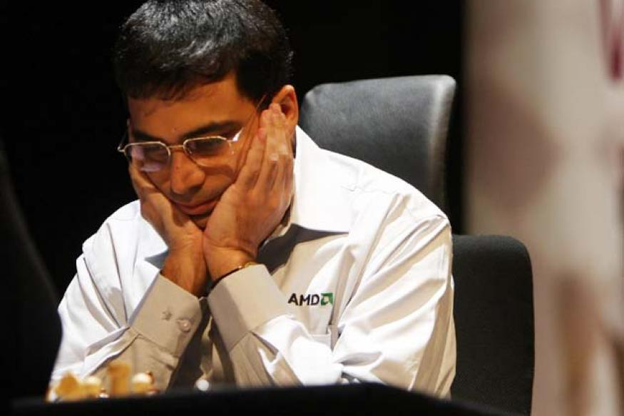 Viswanathan Anand draws with Shakhriyar Mamedyarov