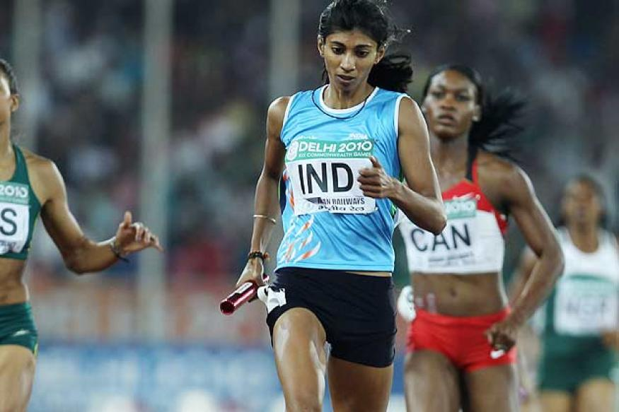Ashwini Akkunji visits Asian Athletics C'ship after serving ban