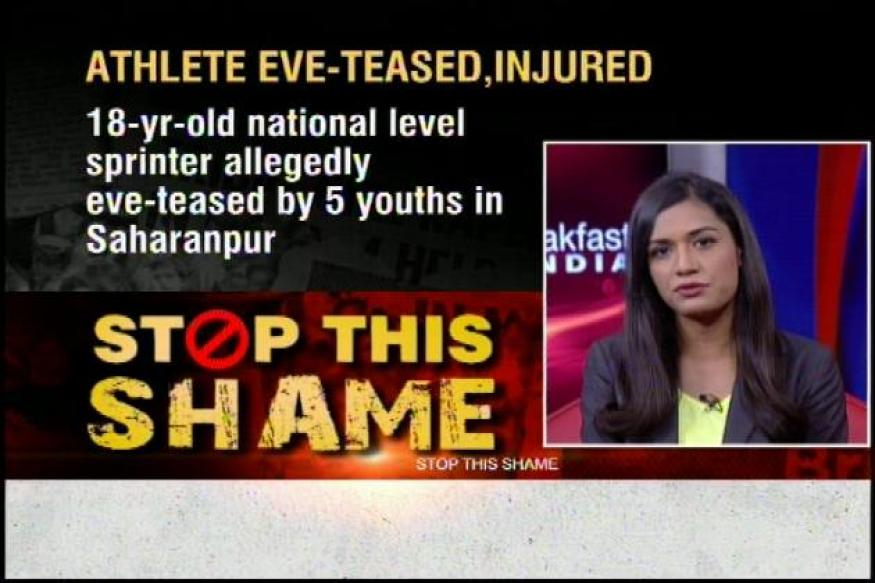 UP: 5 men allegedly molest an athlete, try to run over her