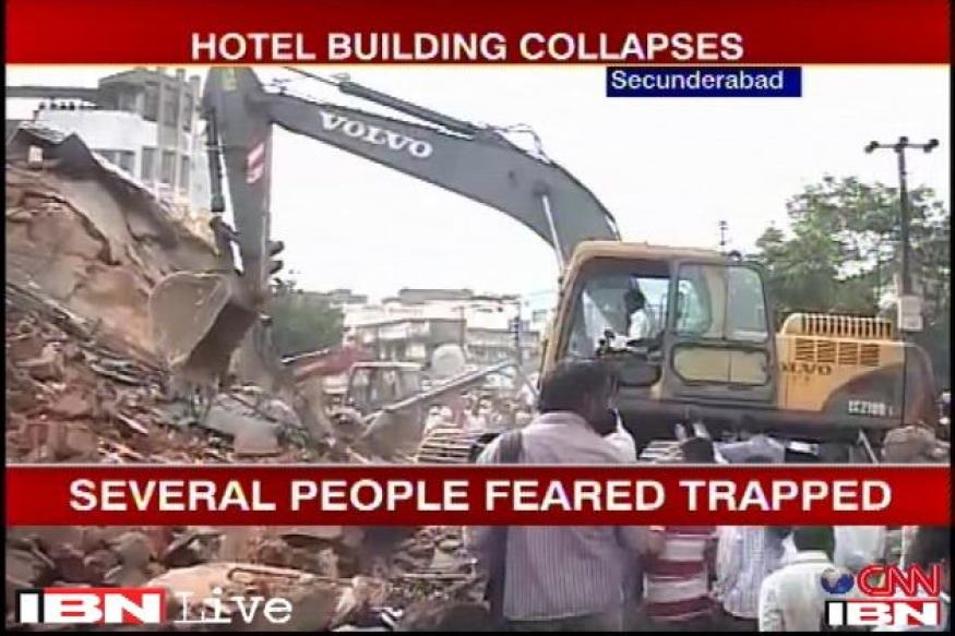 Secunderabad hotel collapse: Death toll rises to 15