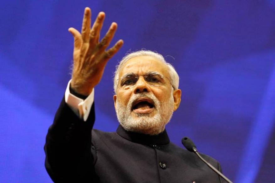 Nagpur: Narendra Modi meets RSS chief Mohan Bhagwat