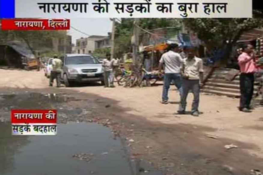 Delhi polls: Narayana faces acute water crisis, has poor roads