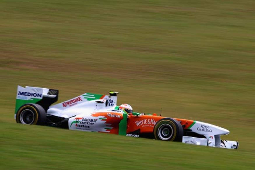 Force India hope to keep McLaren behind them