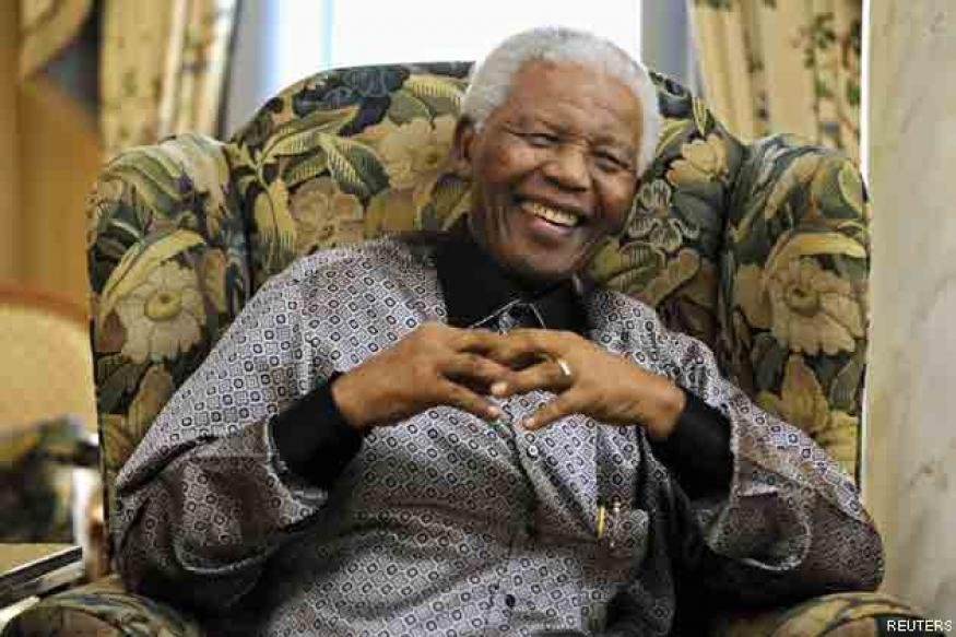 Obama wishes Nelson Mandela on his 95th birthday
