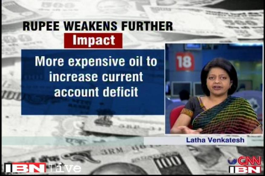 Rupee can weaken further against the US dollar: Latha Venkatesh