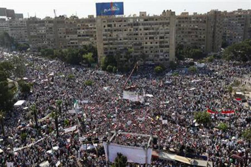 Five killed in anti-Mursi protests across Egypt