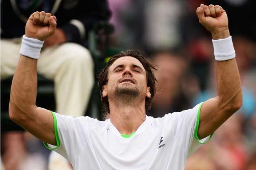 Ferrer grinds down Dodig to reach Wimbledon quarter-finals