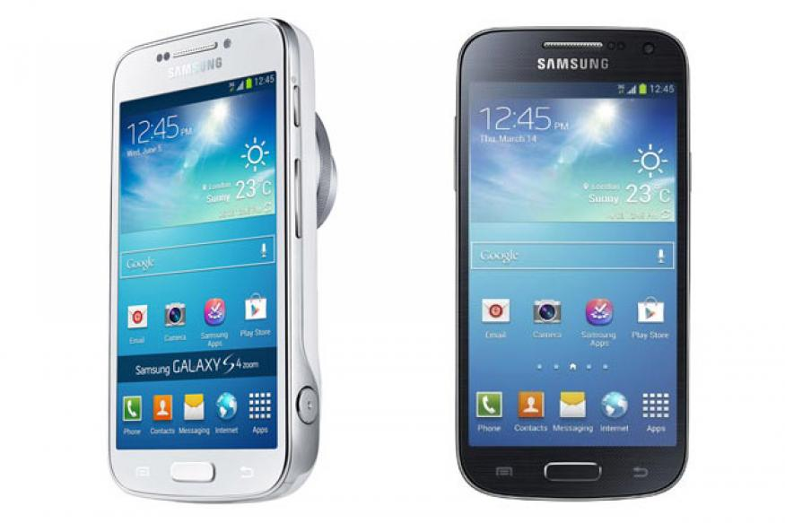 Samsung launches Galaxy S4 Mini at Rs 27,900, S4 Zoom at Rs 29,900