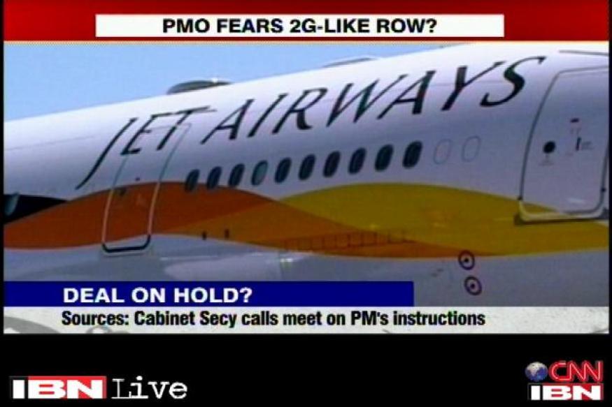 I believe the Jet-Etihad deal will go through: Karma Paljor