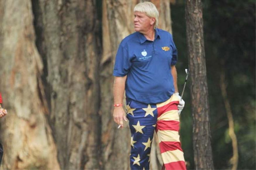 John Daly withdraws from British Open with elbow injury