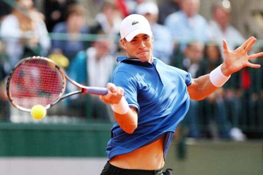 John Isner beats Ivo Karlovic to enter semi-finals in Newport